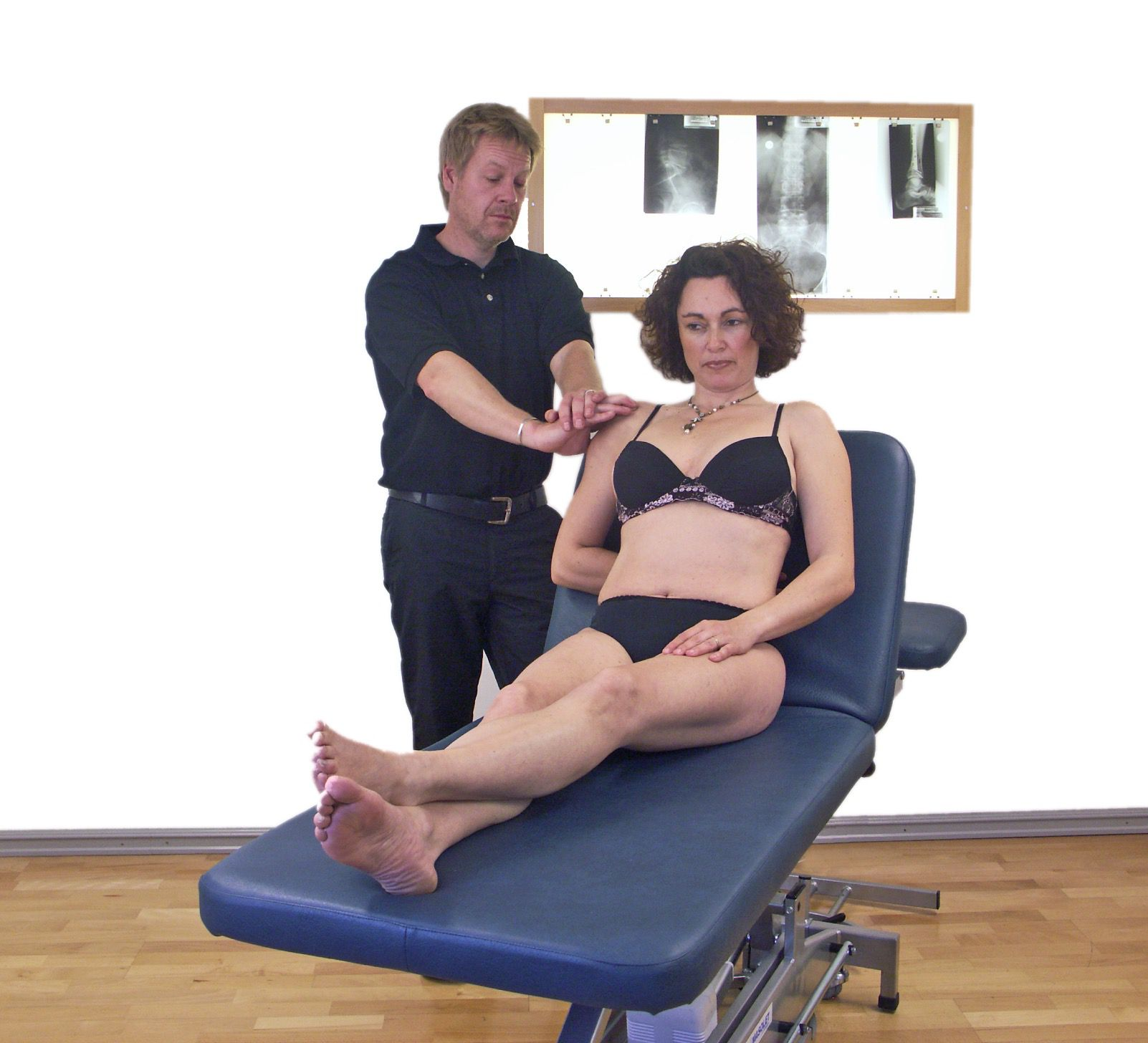 Friction massage supraspinatus